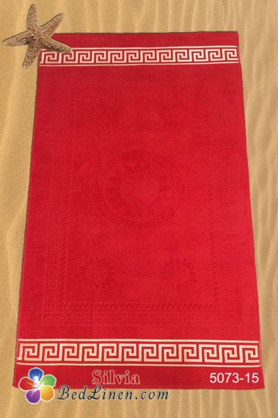 Плажна кърпа България - червена